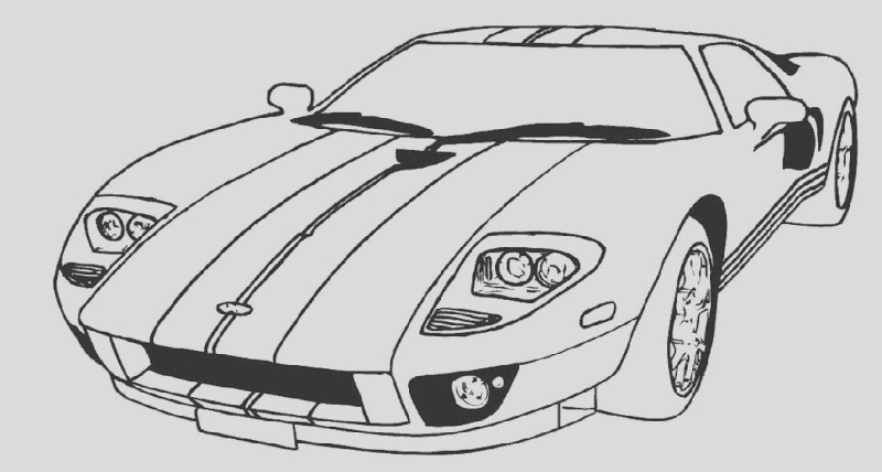 classic car coloring pages free 8 image