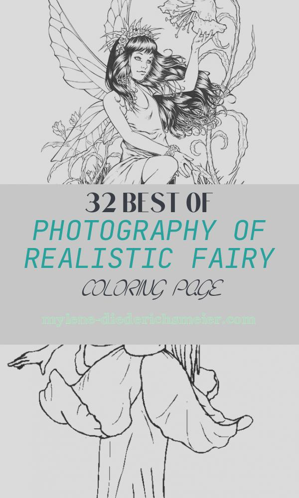 Realistic Fairy Coloring Page Awesome Coloring Pages Fairies for Adults Coloring Home