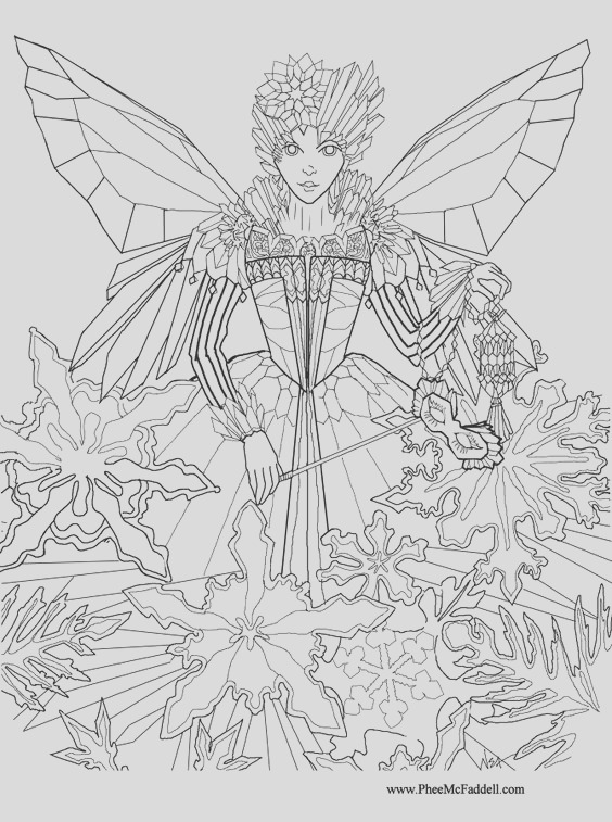 realistic fantasy coloring pages