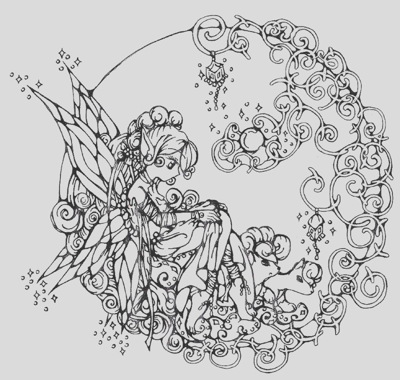 realistic flower coloring pages 9