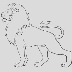 lion coloring pages your