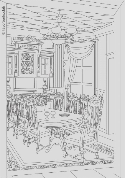 authentic architecture dining room