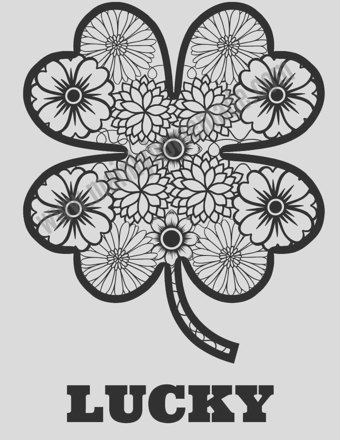 st patricks day coloring page printable