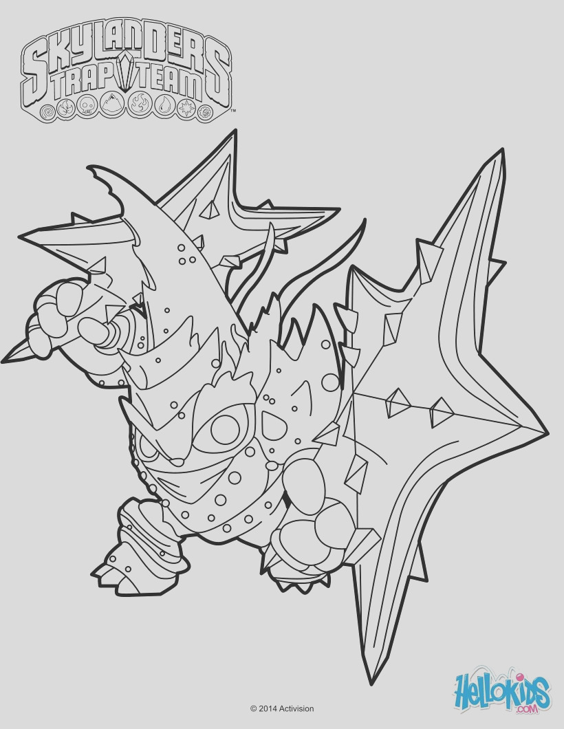 food fight skylanders trap team coloring pages sketch templates