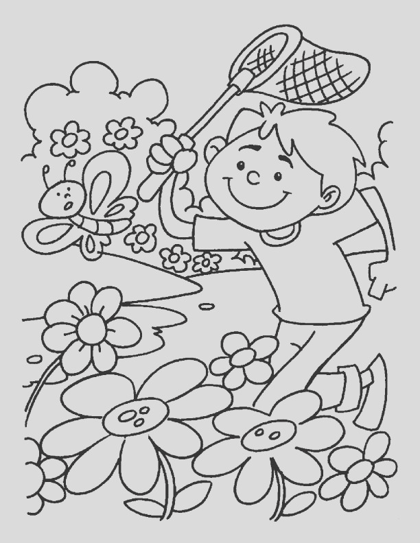 best quality printable spring break coloring pages for preschoolers
