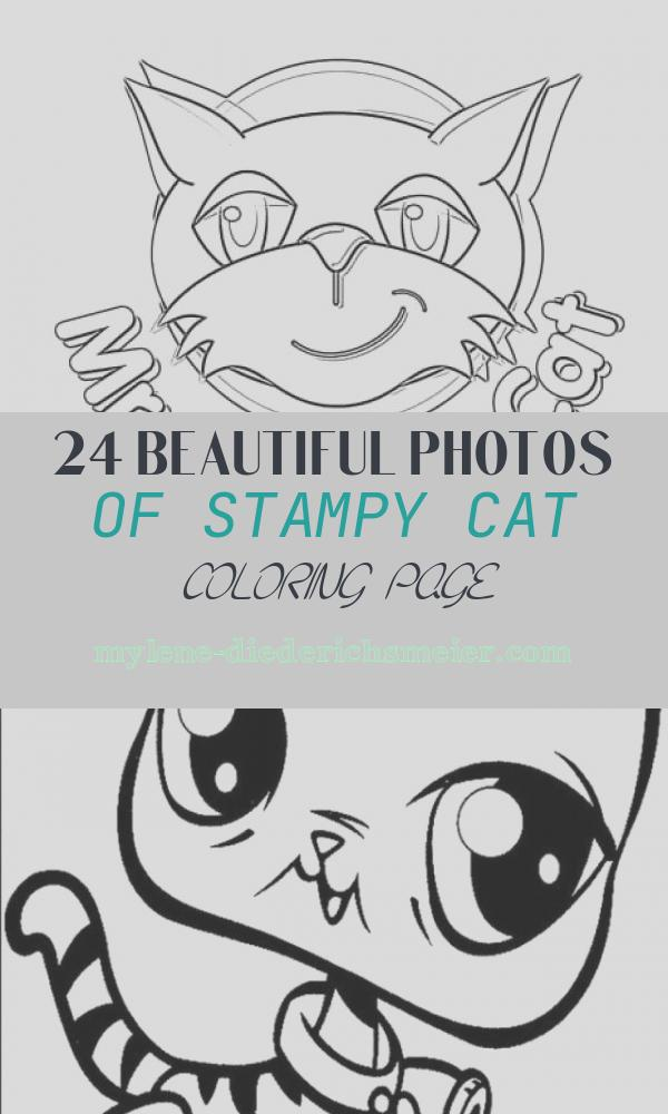 Stampy Cat Coloring Page Awesome Mr Stampy Cat Coloring Page Super Fun Coloring