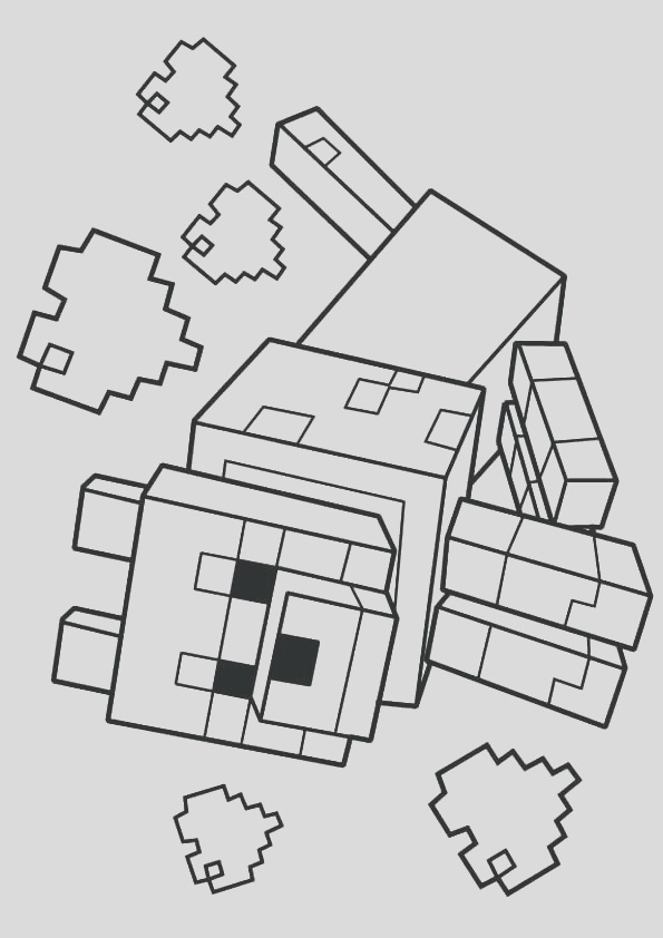 minecraft stampy drawing