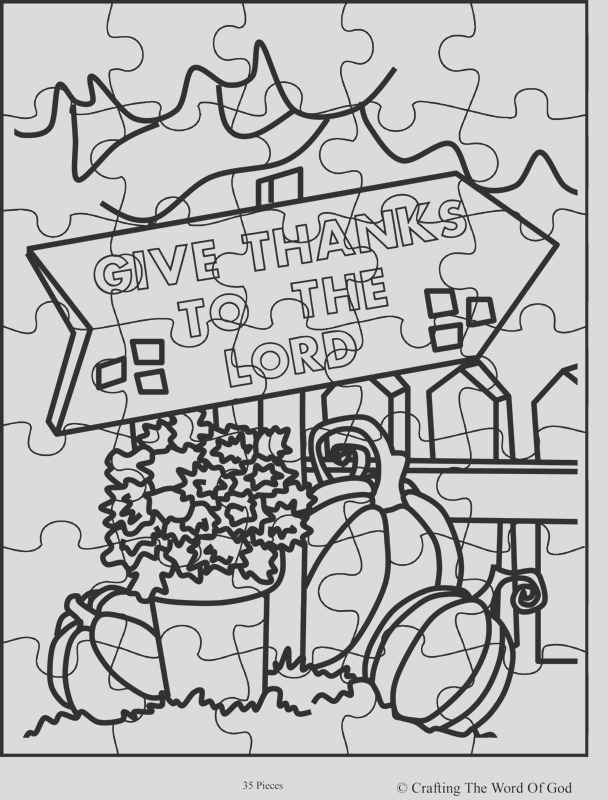 thanksgiving puzzle 8 activity sheet