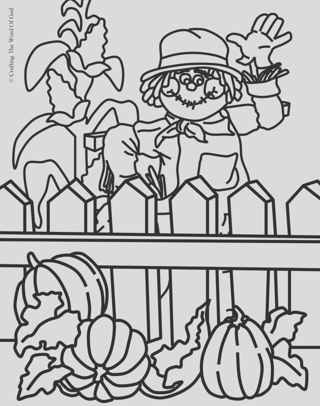 thanksgiving coloring page 4 coloring page