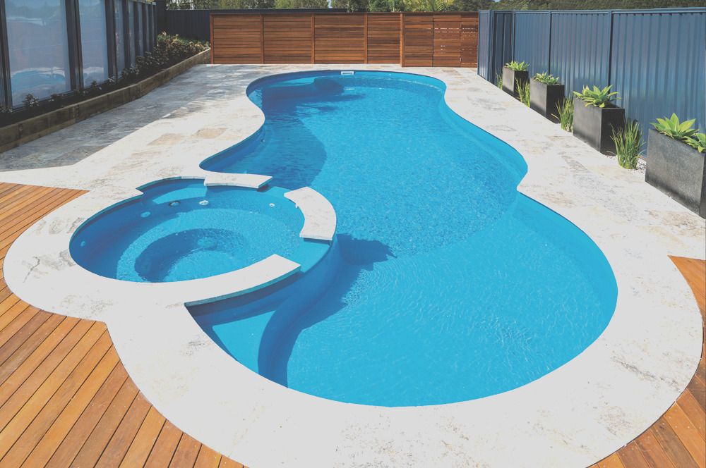 7 smart colors for your leisure pool