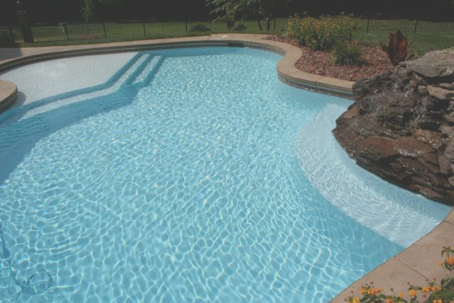 water color starts with interior finish selection traditional swimming pool and hot tub raleigh