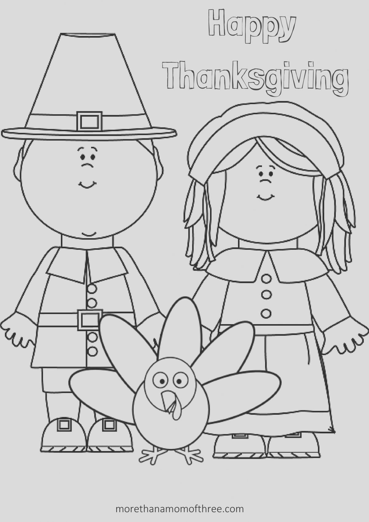 Thanksgiving Printable Coloring Page Lovely Free Thanksgiving Coloring Pages Printables for Kids