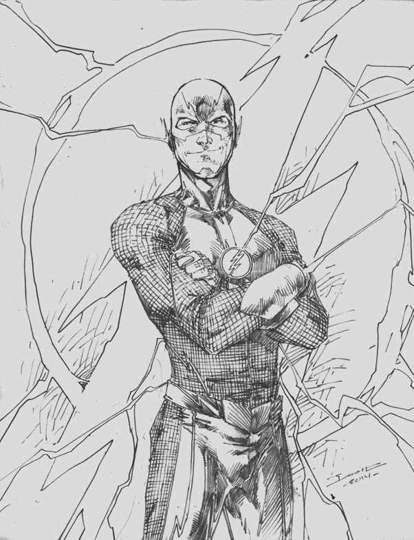 the flash cw series coloring pages sketch templates