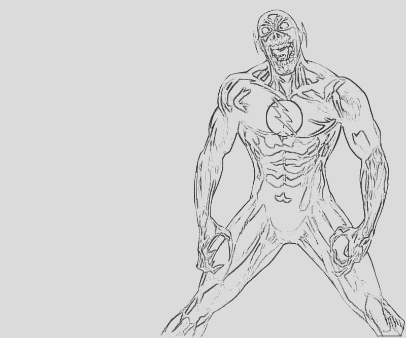 zoom flash coloring pages sketch templates