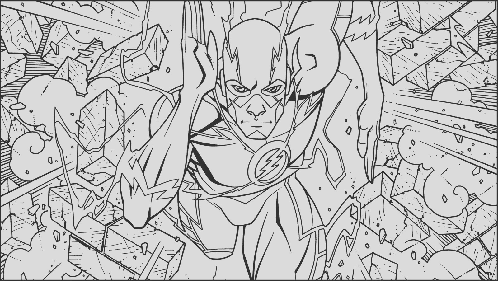 savitar the flash cw series coloring pages sketch templates
