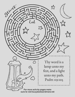free bible activity pages for kids