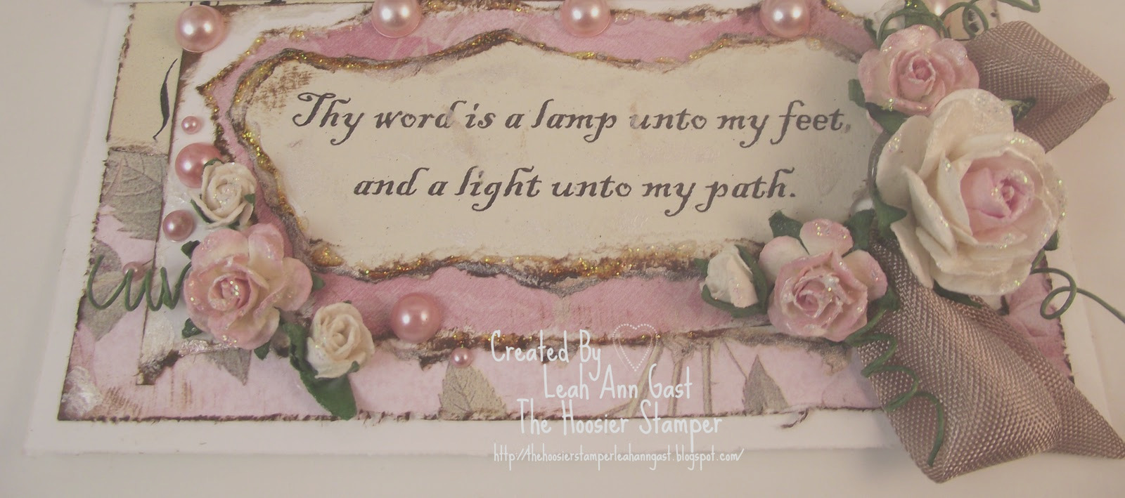 thy word is lamp unto my feet and light