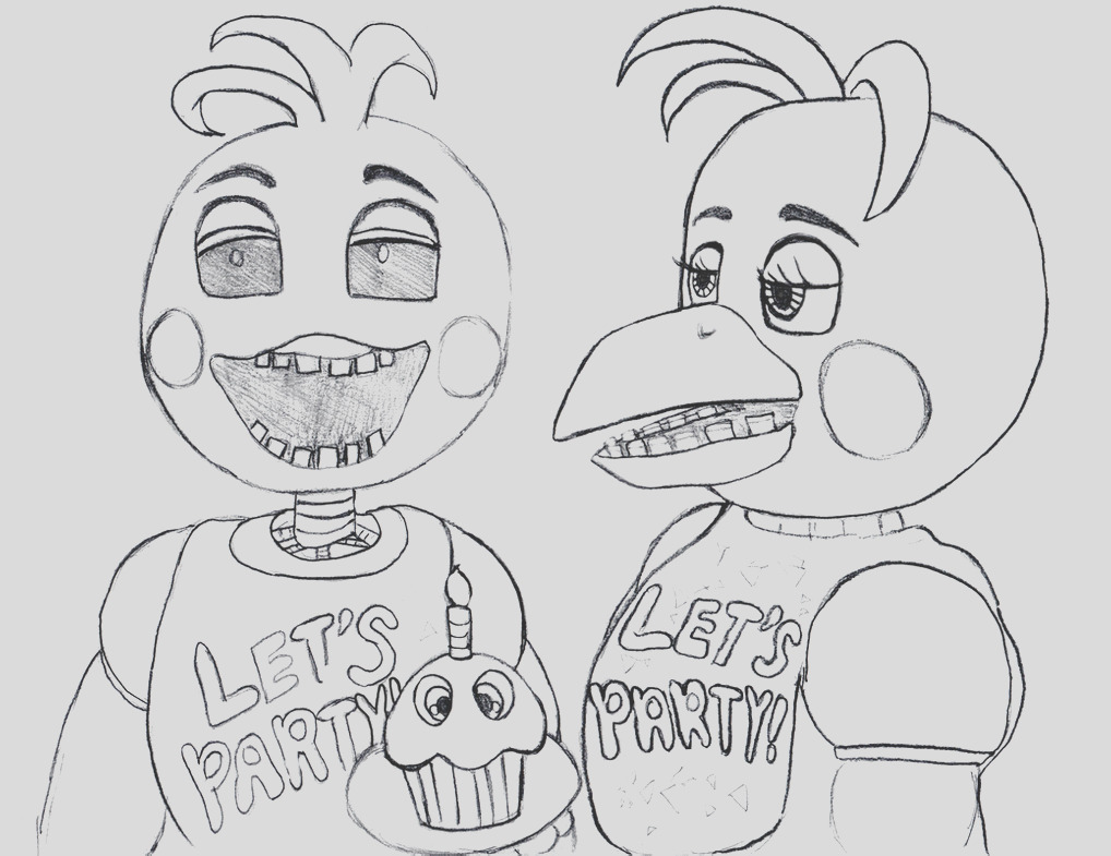 Toy Chica from Five Nights At Freddy s 2