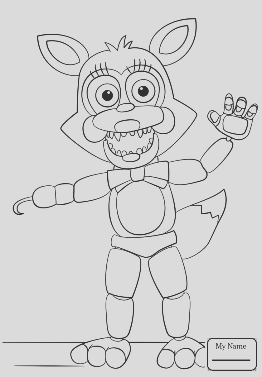 fnaf coloring pages chica