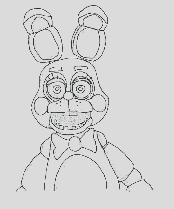 chica coloring pages