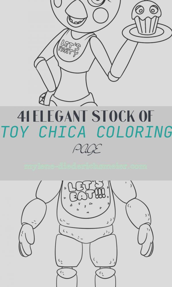 Toy Chica Coloring Page Lovely toy Chica Collab with Detective May by Raybuggybug On