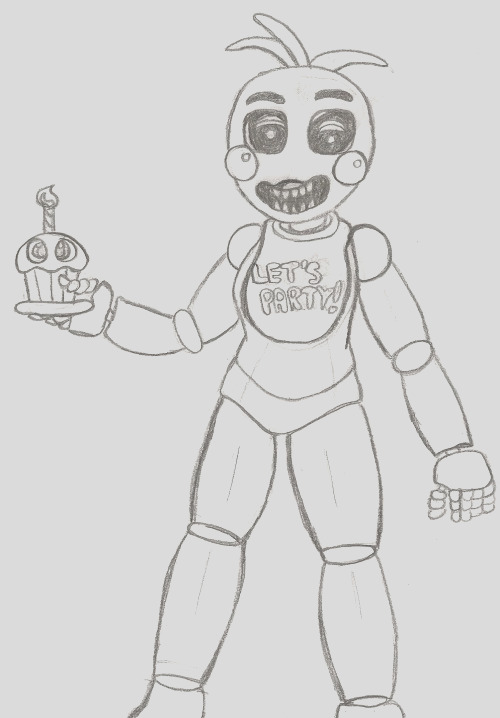 toy chica pages sketch templates