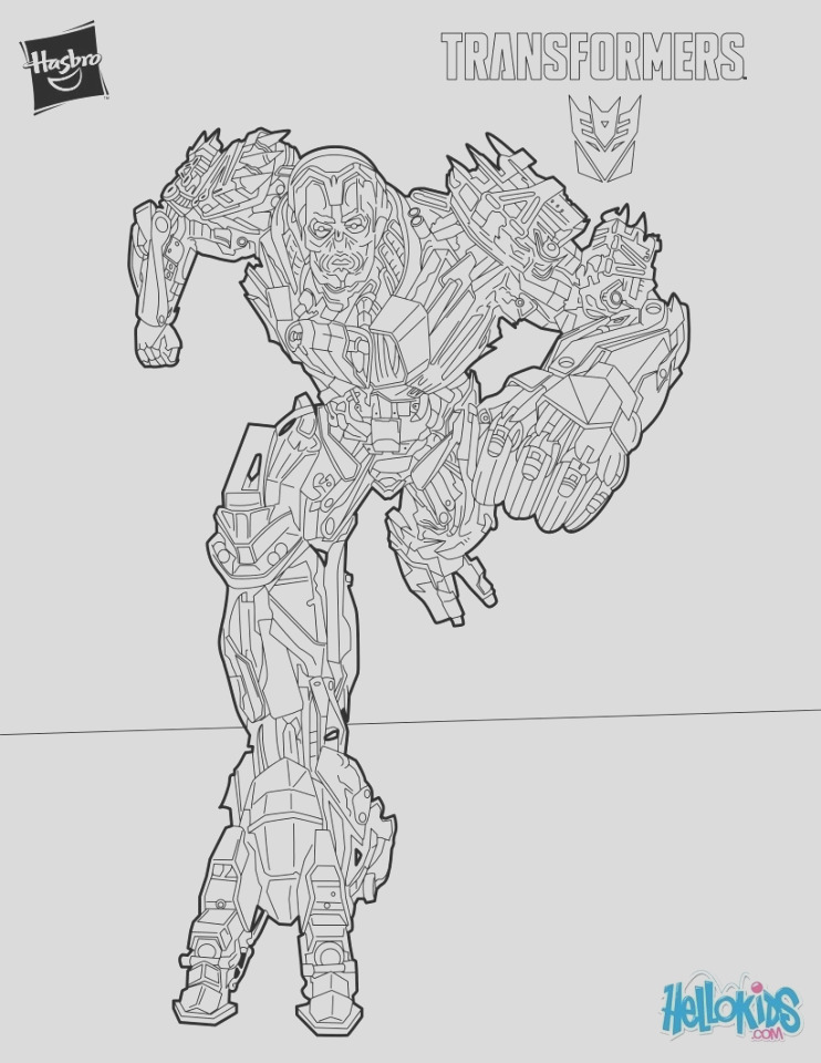 epic transformers coloring pages for teenage boys