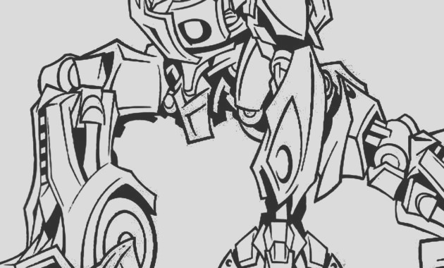 transformer the last knight coloring pages