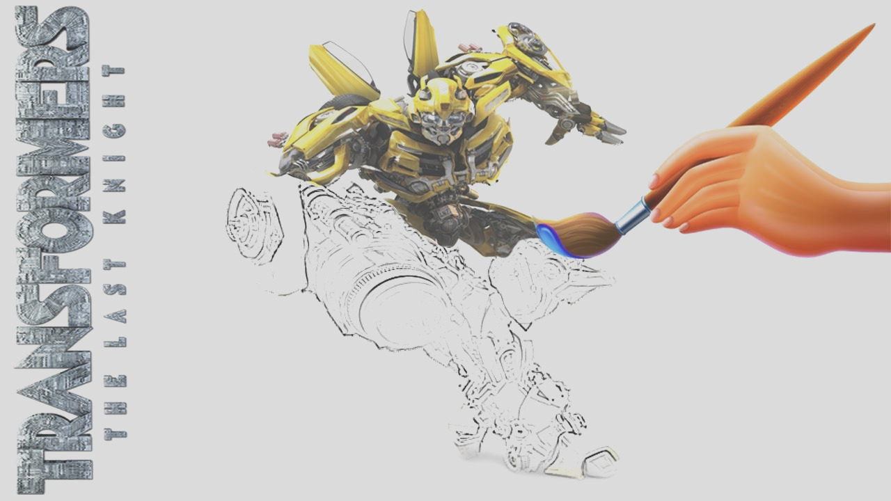 transformers drawing books