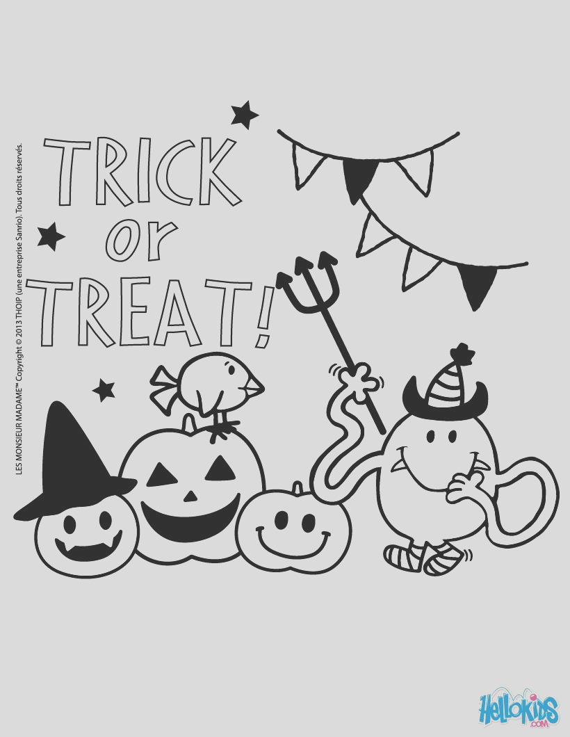 mr tickle s trick or treat