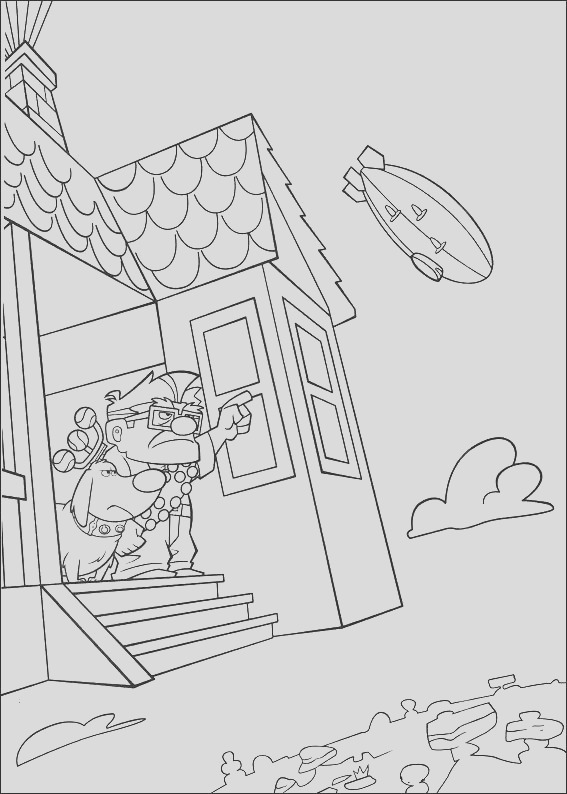 kleurplaten up coloring pages free printable for kids art activity sheet to color 13