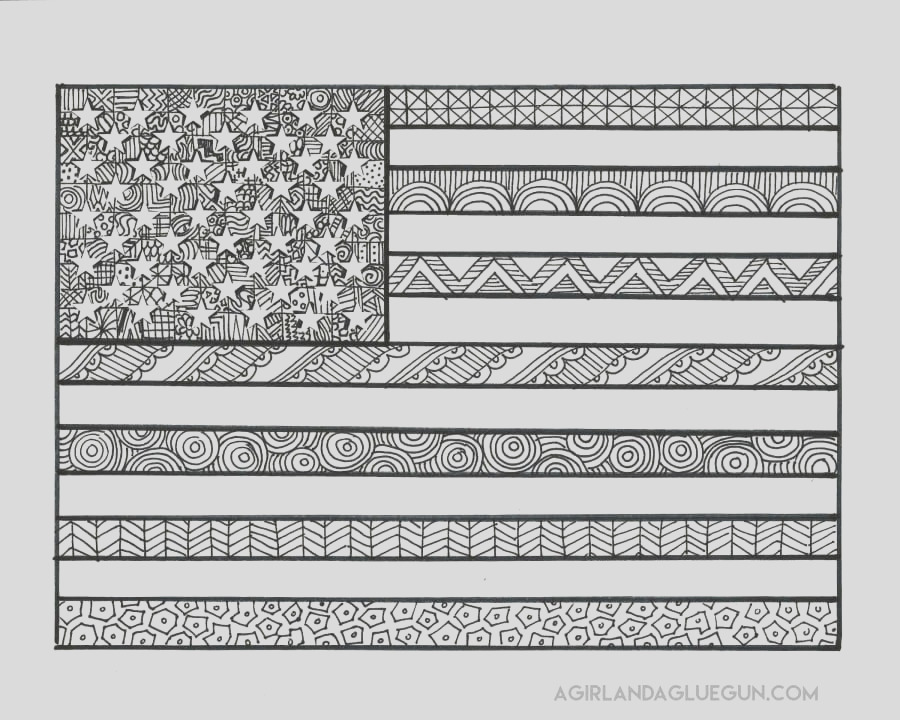 free patriotic coloring pages