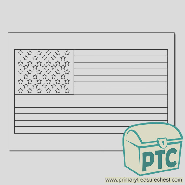 citizenship day constitution day american flag coloring sheet