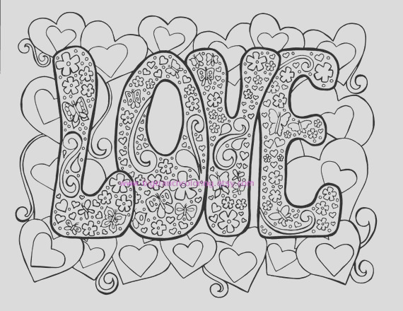 love adult coloring page hippie