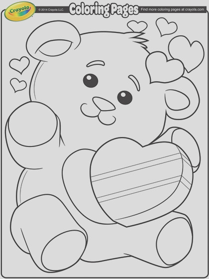valentines teddy bear coloring page