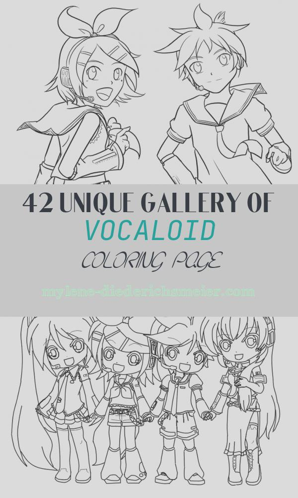 Vocaloid Coloring Page Beautiful Vocaloid Coloring Pages Coloring Home