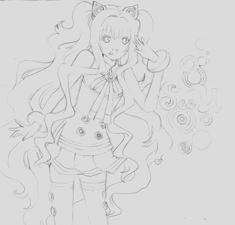 vocaloid coloring pages