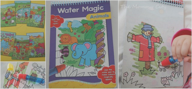 water colouring books