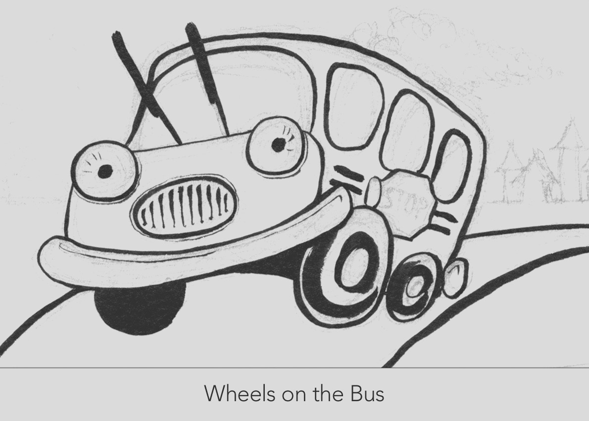 post wheels on the bus printables