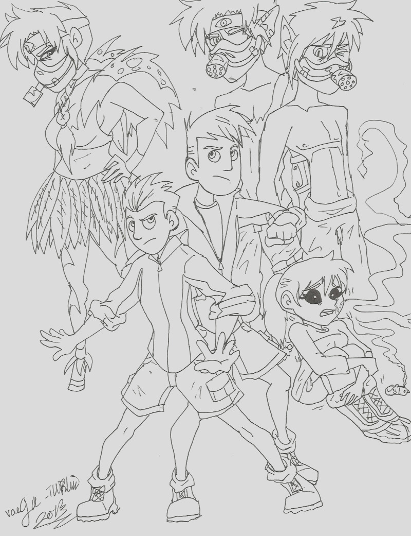 printable wild kratts coloring pages 8