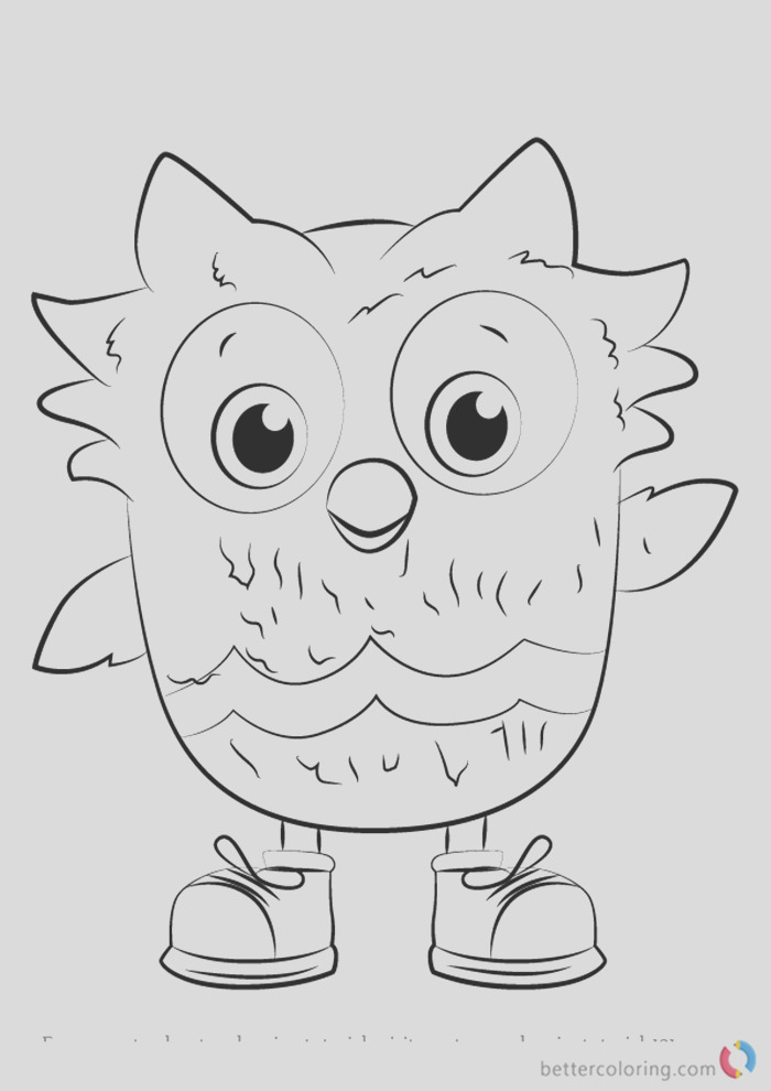 o the owl from daniel tiger coloring pages