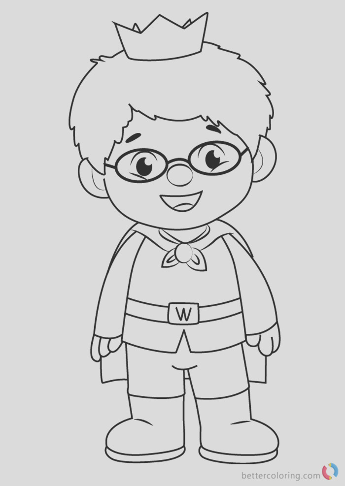 prince wednesday from daniel tiger coloring pages