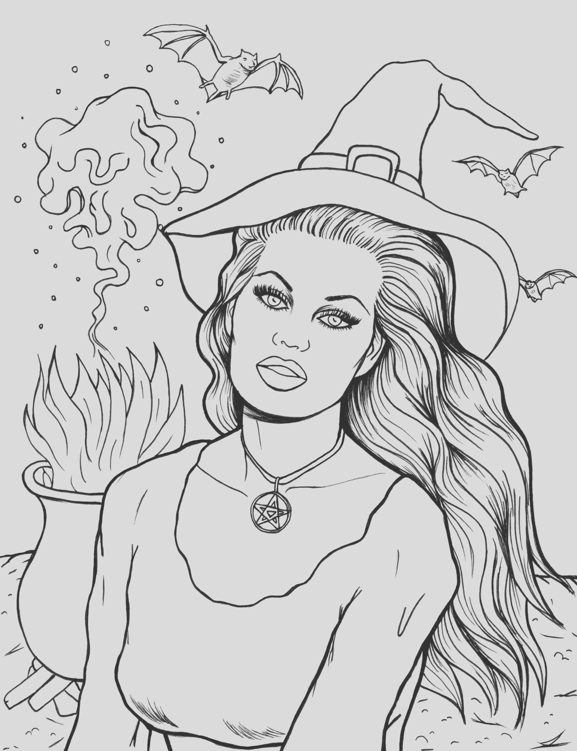 saturday printable halloween coloring pages