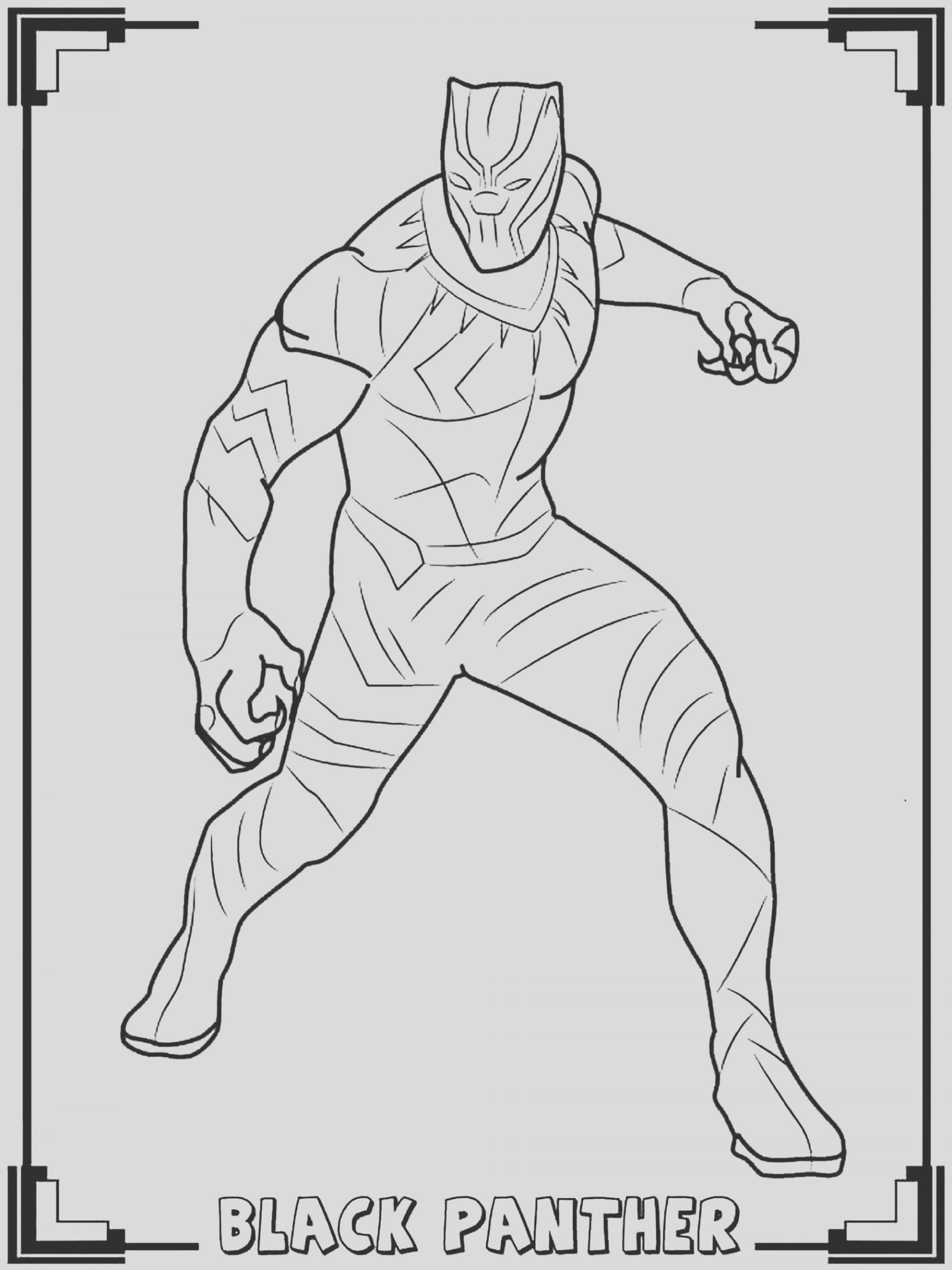 image=black panther coloring pages for children black panther 1