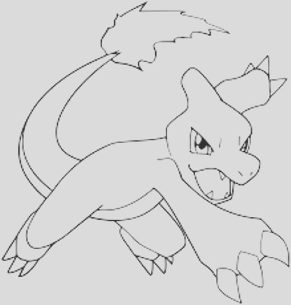39 Awesome Gallery Of Charmeleon Coloring Page - Coloring ...