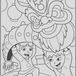 Chinese New Year Coloring Sheet Elegant Chinese New Year Dragon Coloring Page