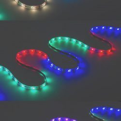 Coloring Led Lights New Color Chasing Rgb Led Light Strip Led Tape Light with 9