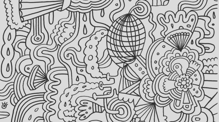 Coloring Page for Teenagers to Print for Free Inspirational Coloring Pages Of Flowers for Teenagers Difficult
