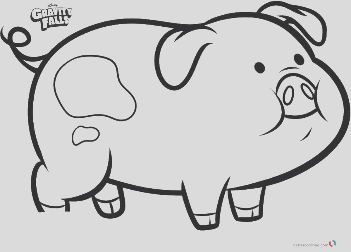 waddles the pig gravity falls