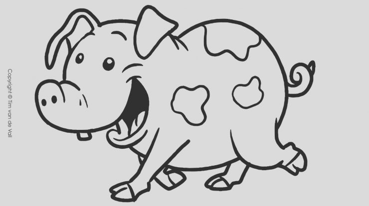 Coloring Page Pig Unique Three Little Pigs Coloring Pages – the Three Little Pigs Story